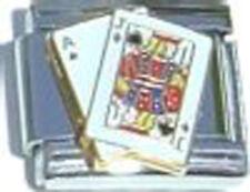 Italian Charm BlackJack 21 Ace King Hi Card Game Casino New