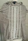 Tommy Hilfiger T-Shirt Shirt Spitzen Größe/Size XS hellbeige/braun beige Spitzen