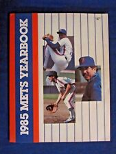 New York Mets Yearbook 1985, MLB Baseball Hernandez, Gooden, Strawberry 96 pages