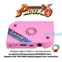 Pandoras Box 6 Arcade Version 1300 in 1 JAMMA Board Can Add FBA Game HDMI VGA