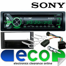 Ford C Max 2004-10 Sony DAB CD MP3 USB Bluetooth Car Stereo & Steering Wheel Kit