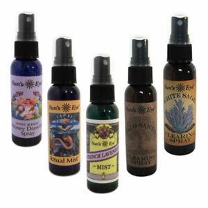 Sun's Eye Fine Mists Cleansing Spray 2 oz Bottle Ritual Mist - Choose Fragrance!