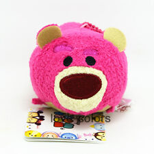 New Disney Lotso Bear Toy Story 3 Soft Tsum Tsum Stuffed plush Toy Doll Gift