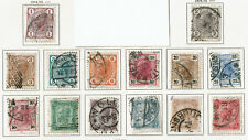 Briefmarken Österreich Kaiser Franz Josef  1904 Mi-105-108