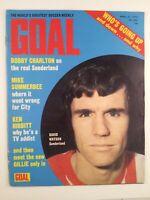 Goal Magazine #242 : April 1973 : Vintage Football Magazine