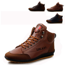 Men's Frenulum Casual Shoes Canvas High Top Canvas Shoes Runing Sneakers Fashion