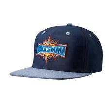 WrestleMania 33 Blue WWE Mens Snapback Baseball Cap Hat
