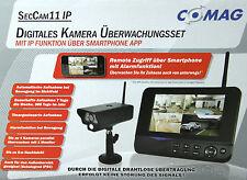 """COMAG Digitales IP Kamera Funk Überwachungs Set Video Überwachung 7"""" TFT Monitor"""