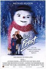 JACK FROST Movie POSTER 27x40 B Michael Keaton Kelly Preston Joseph Cross Mark