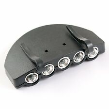 5 LED Light Under the Brim Cap Hat Headlamp for Hunting Fishing N3