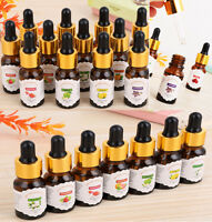 100% Natural Pure Essential Oils Carrier oils Aromatherapy Fragrance 10ml