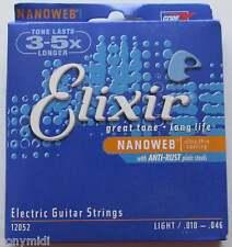 Juego de Cuerdas ELIXIR Guitarra Eléctrica 010 046 NANOweb - Oferta LIMITADA!!