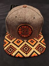 "Zephyr NHL Boston Bruins ""Dreamcatcher"" 5 panel flat bill SnapBack Hat"