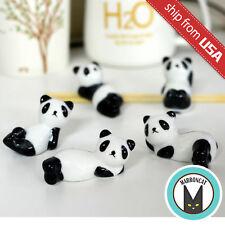 Lot 5pcs Panda Bear Japan Zakka Ceramic Chopstick Rest Holder hashioki gift cute