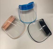 Full Face Visor Adjustable Tilt face shield  Clear PPE UK SHIPPED look Good