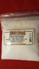 1 LB # LD CARLSON YEAST ENERGIZER NUTRIENT BOOSTER HOME BREW BEER WINE