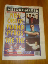 MELODY MAKER 1993 AUG 28 NEW ORDER PORNO FOR PYROS