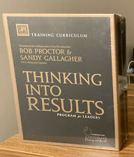 THINKING INTO RESULTS For Leaders Program by Bob Proctor **NIB Sealed Plastic**