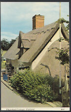 Suffolk Postcard - Thatched Cottage, Flatford RS5461