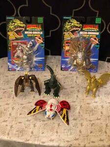 1994 TOHO Godzilla King of Monster's Figure Trendmasters 6 Piece Set Wind Up