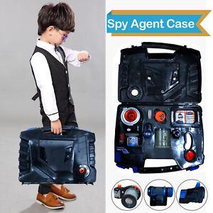 Secret Mission Spy Agent Toys Children Spy Character toys Kit W/Carrying Case
