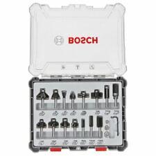Bosch Freihandfräser-Set. 8-mm-Schaft. 15-teilig