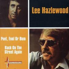 LEE HAZLEWOOD - POET, FOOL OR BUM/BACK ON THE STREET AGAIN NEW CD