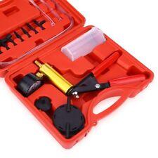 2 In 1 Brake Fluid Bleeder Handheld Manual Vacuum Pistol Tester Pump Tool Kit