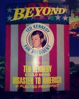 Beyond magazine from March 1970. Vol 3, #18. Ted Kennedy cover