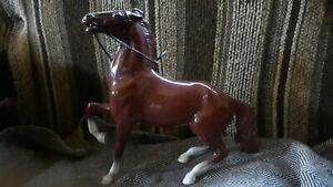 Breyer Hartland horse semi rearing