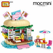 Amusement park LOZ BLOCK Drinks Shop Diamond Building Blocks Nano Fun 1730