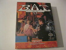 "BAT new PC Game 5.25"" disk UBI Soft B.A.T. - Sealed"