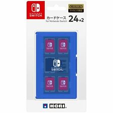 Nintendo Switch JAPAN official Licensed Game Software Card Case 24 Blue