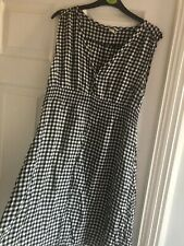 H&m Maternity Checked Dress Size M