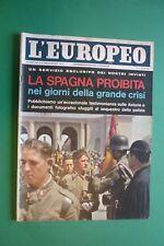 L'Européen 1962 Mario Monicelli Jayne Mansfield Richard Burton Espagne Mineurs
