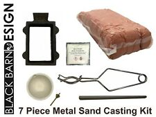 7 Piece Sand Casting Bundle For Metal Casting (Delft Style) Gold Silver Bronze