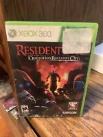 Resident Evil: Operation Raccoon City (Microsoft Xbox 360, 2012)NO MANUAL!