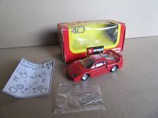 368J Burago 4108 Ferrari F40 1987 Robustelli 1:43