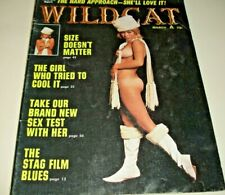 WILDCAT March 1971~Multiple BILL WENZEL~WOODY KIMBRELL Cartoons~VIC MARTIN