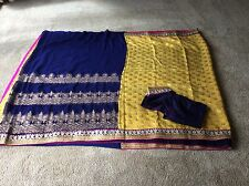 Indian Pakistani saree bollywood designer Indian clothing outfit India