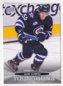 11-12 Upper Deck Mark Scheifele Young Guns Rookie Winnipeg Jets 2011