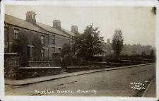 Hunwick. Rough Lea Terrace by H. Coates, Willington # 728.