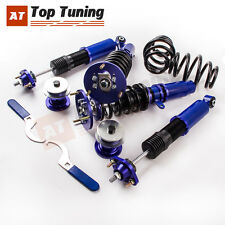 BR Coilovers for 1999-2005 BMW E46 328 325 330 Dampers Springs Lowering Blue