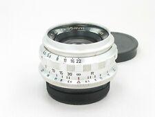 Steinheil Culmigon 35mm f/4.5 Lens Exakta 8 blades963