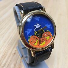 Vintage Innovative Time Halloween Theme Men Analog Quartz Watch Hour~New Battery