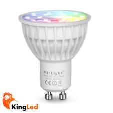 Mi-Light® Faretto LED GU10 4W RGB+CCT Dimmerabile Lampada MiLight FUT103 2261