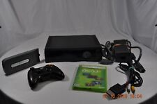 Microsoft Xbox 360 250GB HDD Translucent Black Console + BUNDLE!!
