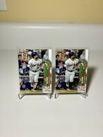 2020 Topps Holiday Jose Altuve SSP Ornament & SP Candy Cane Socks Astros