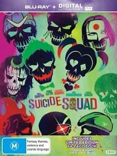 Suicide Squad (Blu-ray, 2016, 2-Disc Set)