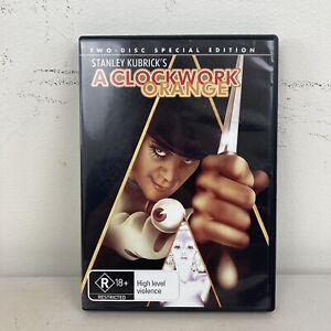 A Clockwork Orange DVD Region 4 VGC + Free Postage